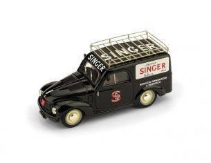 Brumm BM0540 FIAT 500C FURGONE 1960 SINGER 1:43 Modellino