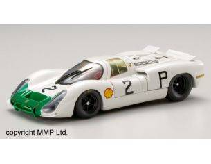 Ebbro EB43738 PORSCHE 908 N.2 WINNER 1000 KM NURBURGRING 1968 J.SIFFERT-V.ELFORD 1:43 Modellino