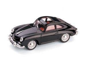 Brumm BM0121-02 PORSCHE 356 COUPE' TETTO APERTO 1952 NERO 1:43 Modellino