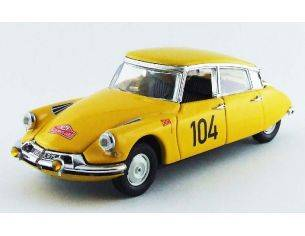 Rio RI4450 CITROEN DS 19 107th MONTE CARLO 1962 MAUREL-COURBE 1:43 Modellino