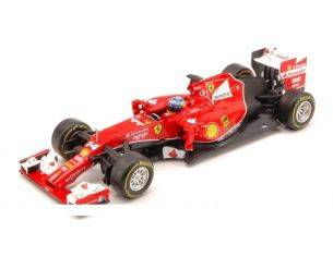 Hot Wheels HWBLY69 FERRARI F.ALONSO 2014 N.14 (F14-T) 1:43 Modellino