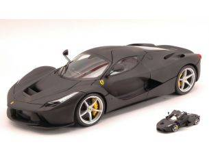 Hot Wheels HWBLY53 FERRARI LA FERRARI 2013 BLACK 1:18 Modellino