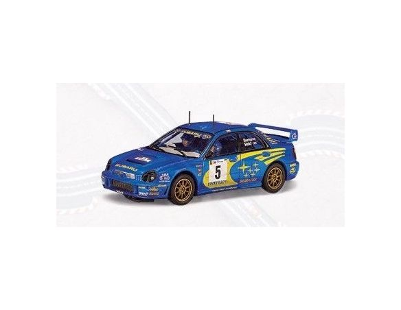 Auto Art / Gateway 13001 SUBARU IMPREZA WRC'01 n.5 BURNS 1/32 Modellino