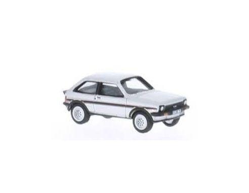 Bub 09652 FORD FIESTA XR2 SILVER 1/87 Modellino