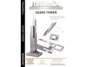 FASCINATIONS ICX013 SEARS TOWER CHICAGO Modellino