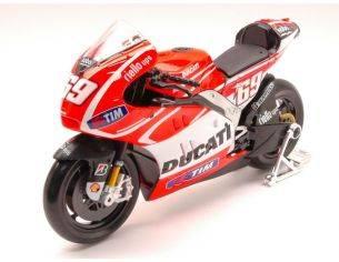 Maisto MI31403-69 DUCATI N.HAYDEN MOTO GP 2013 1:10 Modellino