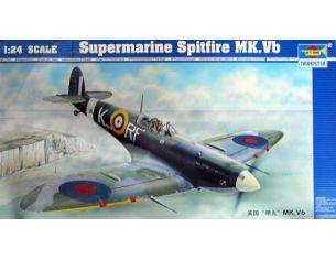 TRUMPETER 02403 SUPERMARINE SPITFIRE MK.VB Modellino