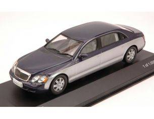 White Box WB110 MAYBACH 62 2009 SILVER/METALLIC BLUE 1:43 Modellino