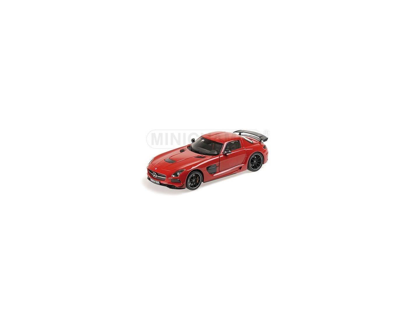 Minichamps 110033022 mercedes benz sls amg black series for Mercedes benz sls amg red
