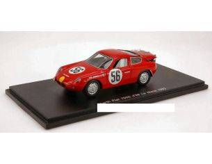 Spark Model S1320 ABARTH FIAT 700 S N.56 LM 1962 1:43 Modellino