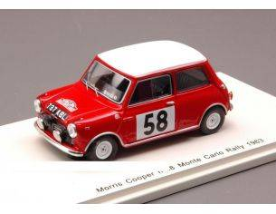Spark Model S1189 MORRIS COOPER N.58 MONTE CARLO 1963 1:43 Modellino