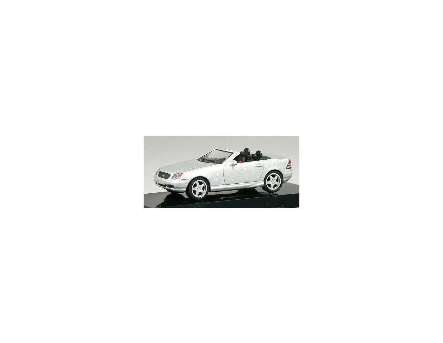 Auto Art / Gateway 20111 M.B.SLK AMG ROADSTER SILVER 1/64 Modellino