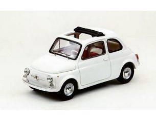 Ebbro EB44461 FIAT 500 F OPEN SOFT TOP 1965 WHITE 1:43 Modellino