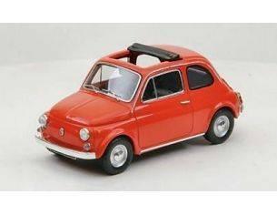 Ebbro EB44462 FIAT 500 F OPEN SOFT TOP 1965 RED 1:43 Modellino