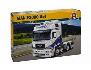 Italeri IT3901 MAN F2000 6x4 KIT 1:24 Modellino