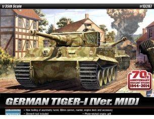 Accademy ACD13287 GERMAN TIGER I KIT 1:35 Modellino