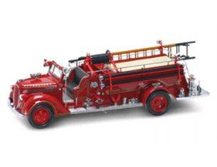 Yat Ming YM20058 FORD FIRE ENGINE '38 1:24 Modellino