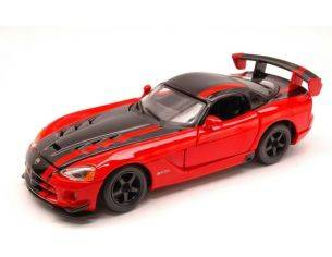 Bburago BU22114R DODGE VIPER SRT 10 ACR 2007 RED/BLACK 1:24 Modellino