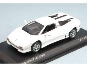 White Box WB505 LAMBORGHINI P140 1988 WHITE 1:43 Modellino