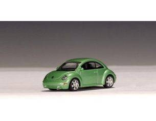 Auto Art / Gateway AA20171 VW NEW BEETLE GREEN 1:64 Modellino
