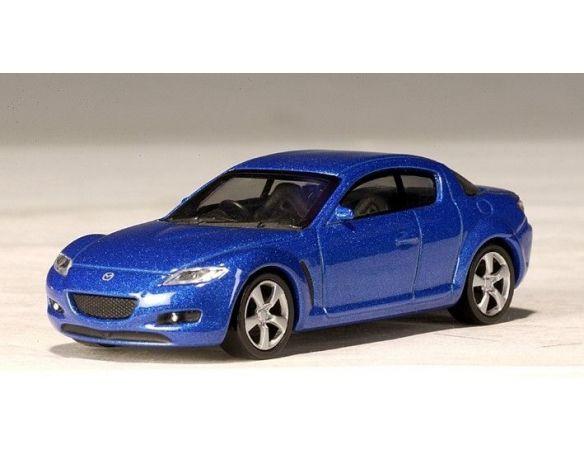 Auto Art / Gateway 20273 MAZDA RX-8 HARDTOP BLUE 1/64 GUIDA Modellino