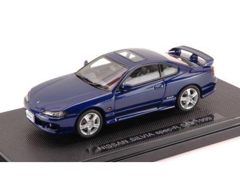 Auto 1 43 ebbro eb44614 nissan silvia spec r s15 1999 blue for Nissan offerte speciali