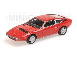 Minichamps PM437123224 MASERATI KHAMSIN 1977 RED 1:43 Modellino