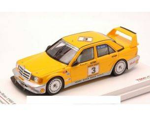 True Scale Miniatures TSM124344 MERCEDES 190E N.3 R.ASCH YELLOW PAGE 200 INVITATION KYALAMI 1990 1:43 Modellino