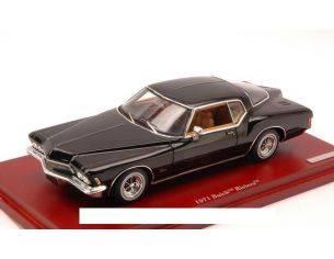 True Scale Miniatures TSM134308 BUICK RIVIERA 1971 BLACK 1:43 Modellino