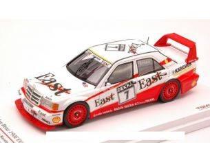 True Scale Miniatures TSM124347 MERCEDES 190E EVO2 N.7 DTM 1991 K.THIIM 1:43 Modellino