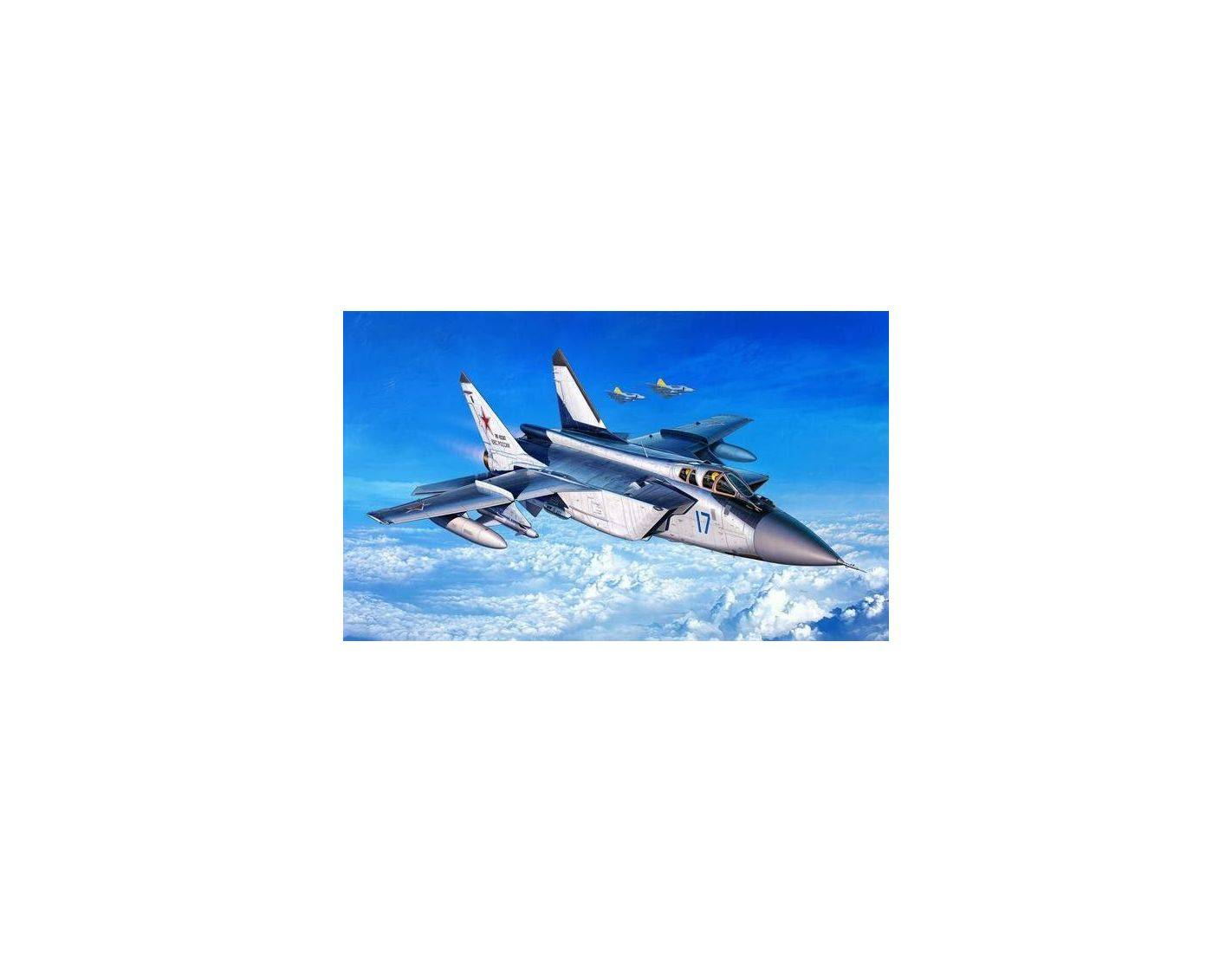 Revell RV4086 MIG-31 FOXHOUND KIT 1:144 Modellino