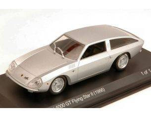 White Box WB507 LAMBORGHINI 4000 GT FLYING STAR II 1966 SILVER 1:43 Modellino
