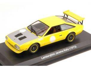 White Box WB503 LAMBORGHINI JARAMA RALLY 1973 YELLOW 1:43 Modellino