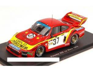 Spark Model S4166 PORSCHE 935 N.37 RETIRED LM 1979 FITZPATRICK-GROHS-LAFOSSE 1:43 Modellino