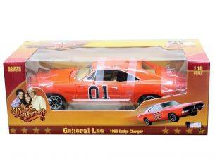 Auto World AMM964 GENERAL LEE DUKES OF HAZZARD DODGE CHARGER 1969 1:18 Modellino