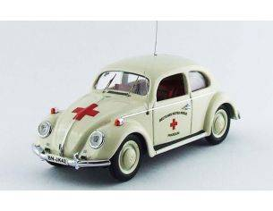Rio RI4457 VW BEETLE MEDICAL DEUTSCHES 1955 1:43 Modellino