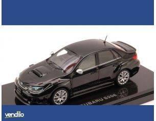 Ebbro EB44783 SUBARU WRX STI S206 2011 BLACK 1:43 Modellino