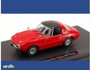 Ebbro EB44801 TOYOTA SPORTS 800 1965 RED 1:43 Modellino