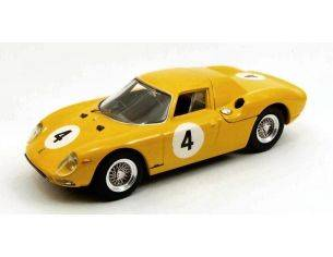 Best Model BT9452 FERRARI 250 LM N.4 8th 500 KM SPA 1965 J.C.FRANCK 1:43 Modellino