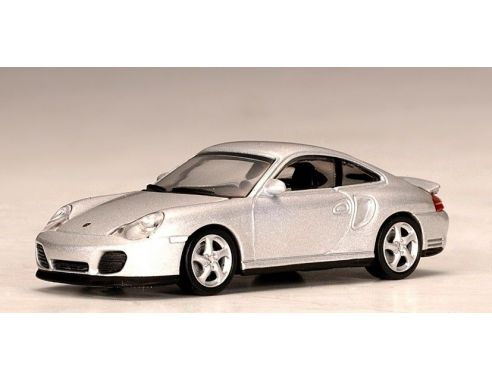 Auto Art / Gateway 20312 PORSCHE 911 TURBO 996 SILVER 1/64 Modellino