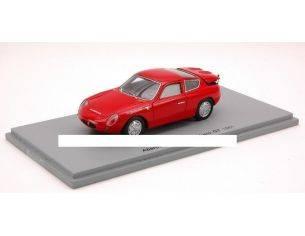 Spark Model S1301 ABARTH 1000 BIALBERO GT '61 RED 1:43 Modellino