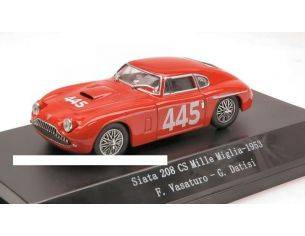 Starline STR54024 SIATA 208 CS N.445 55th MM 1953 VASATURO-DATISI 1:43 Modellino