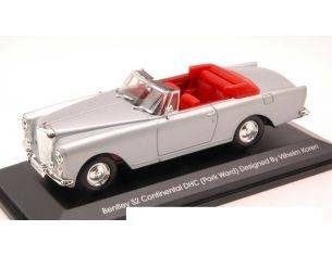 Yat Ming YM43214S BENTLEY S2 CONTINENTAL 1960 SILVER 1:43 Modellino
