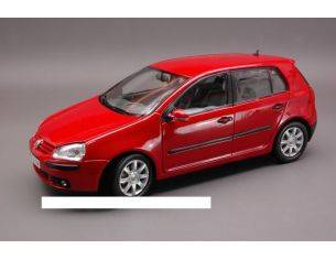 Welly WE2548R VW GOLF V 2004 RED 1:18 Modellino