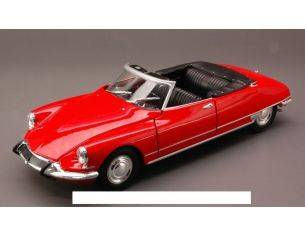 Welly WE2405 CITROEN DS 19 1956 CABRIO OPEN RED 1:24 Modellino