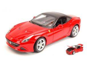 Bburago BU16003R FERRARI CALIFORNIA T (CLOSED TOP) 2014 RED 1:18 Modellino