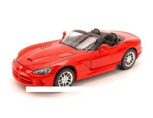 Welly WE0236 DODGE VIPER RT/10 2003 RED 1:24 Modellino