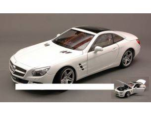 Welly WE18046H-WE MERCEDES SL500 (R231) HARD TOP 2012 WHITE 1:18 Modellino