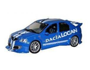Eligor 101093 DACIA LOGAN TUNING BLUE 1/43 Modellino