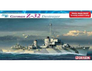 Dragon D1065 GERMAN Z-32 DESTROYER KIT 1:350 Modellino